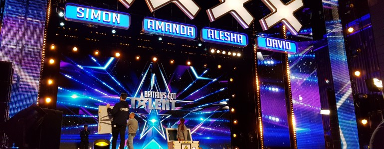 My memorable day as a contestant on-stage in front of the judges on 'Britain's Got Talent'
