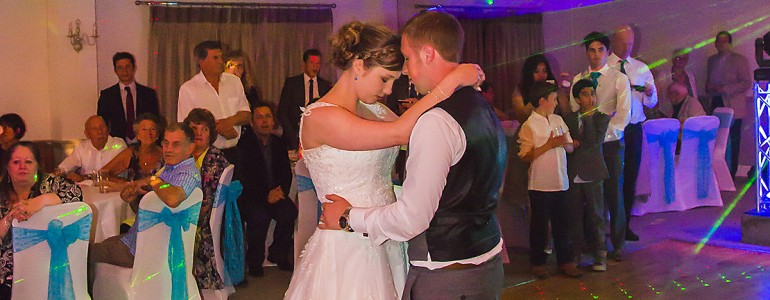 Planning advice and other considerations when booking a DJ for your wedding or function.