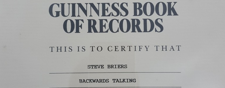 Steve Briers - World Record Holder